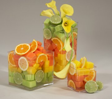 Fruit wedding decoration 41 mbanyumili dream green diy for Fruit orange decoration