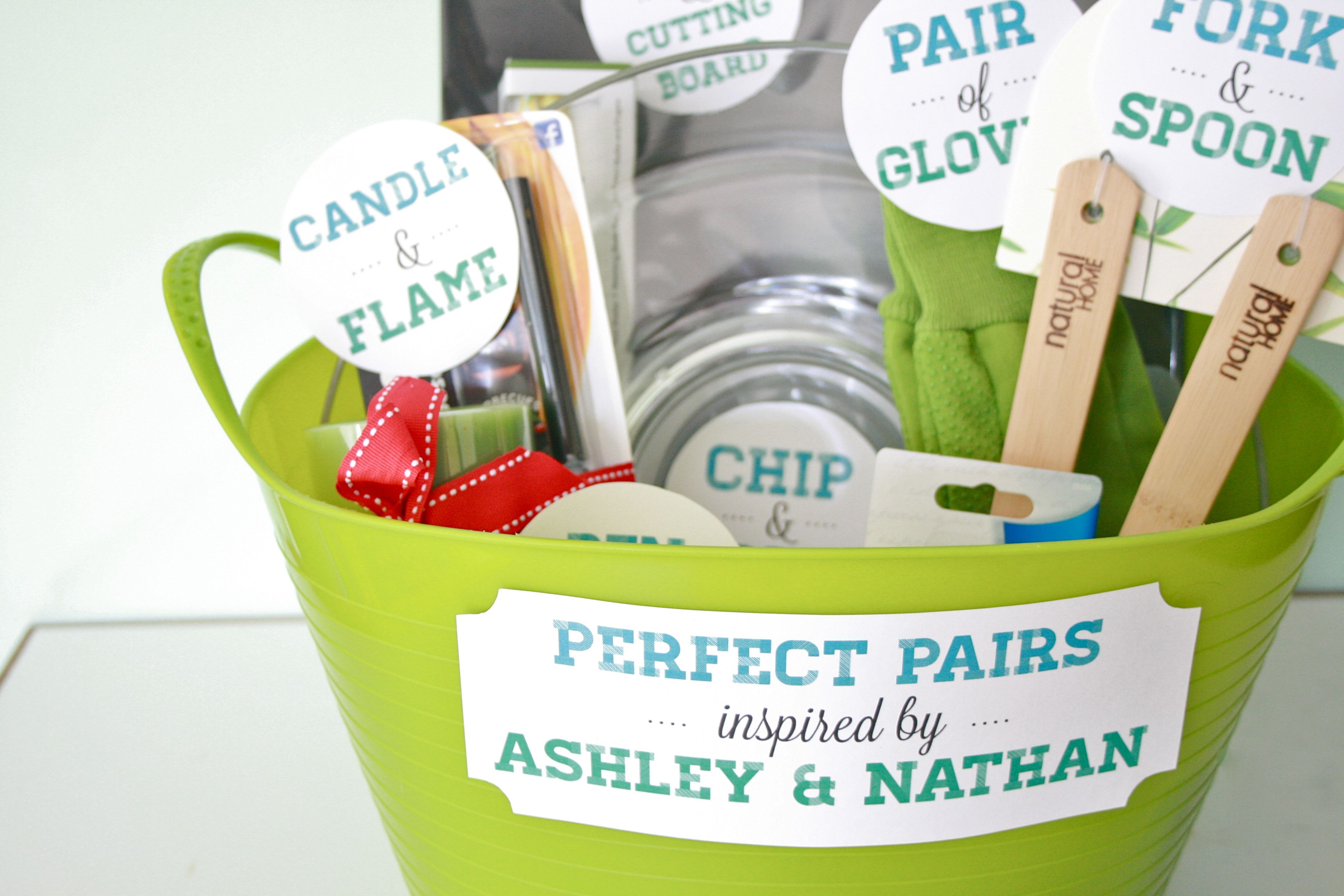 Wedding Gift Basket Ideas For Bride And Groom : Pics Photos - Fun Creative Bridal Shower Gifts