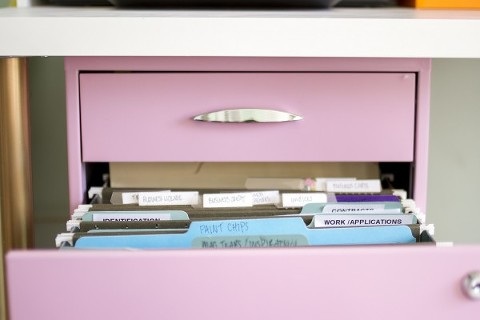 Pink Filing Cabinet 03