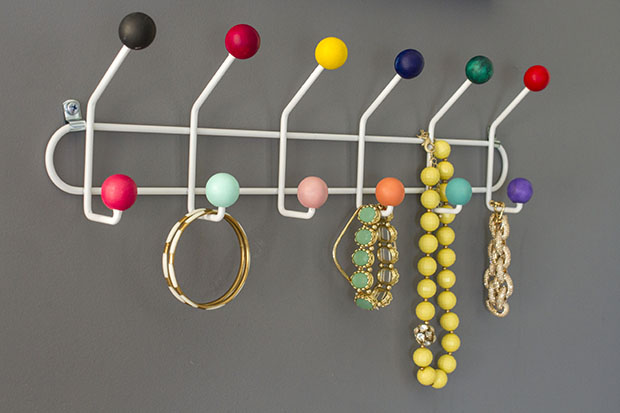 Diy Retro Eames Inspired Hook Rack Dream Green Diy