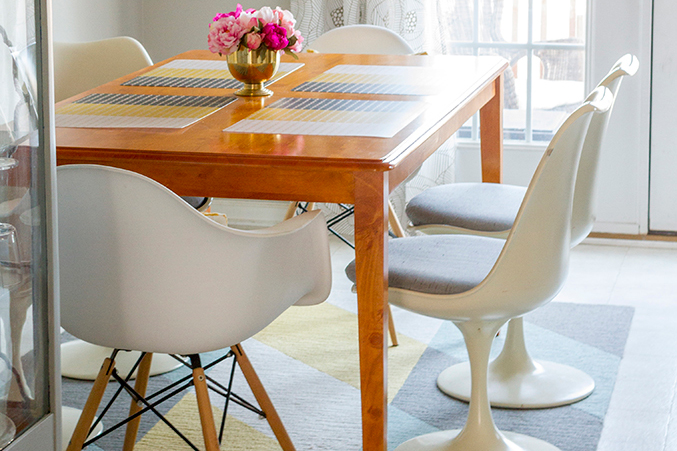 Before & After: Our Craigslist Dining Chairs