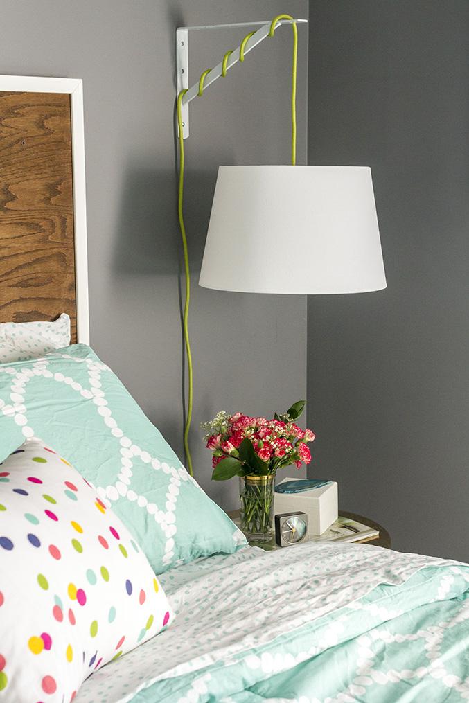 DIY IKEA Bedside Lamp » Dream Green DIY