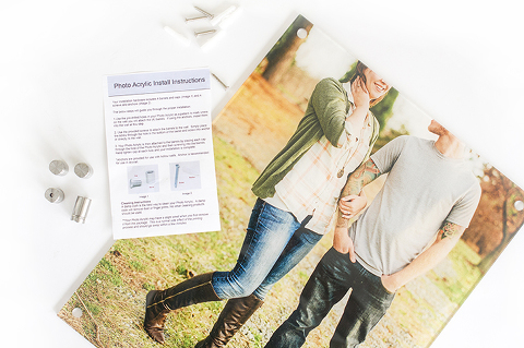 How To Print Family Portraits With Modern Flair | Dream Green DIY