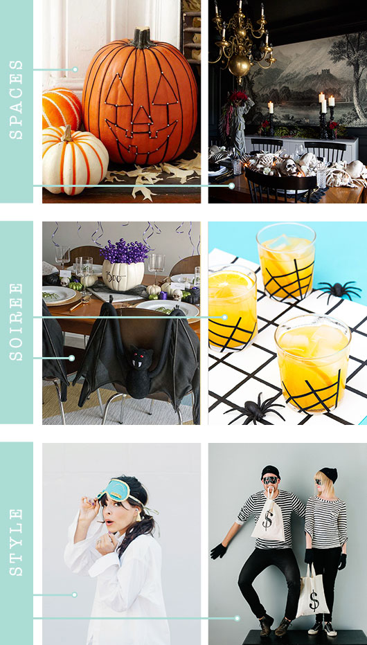 Spaces Soir E Style Halloween Dream Green Diy