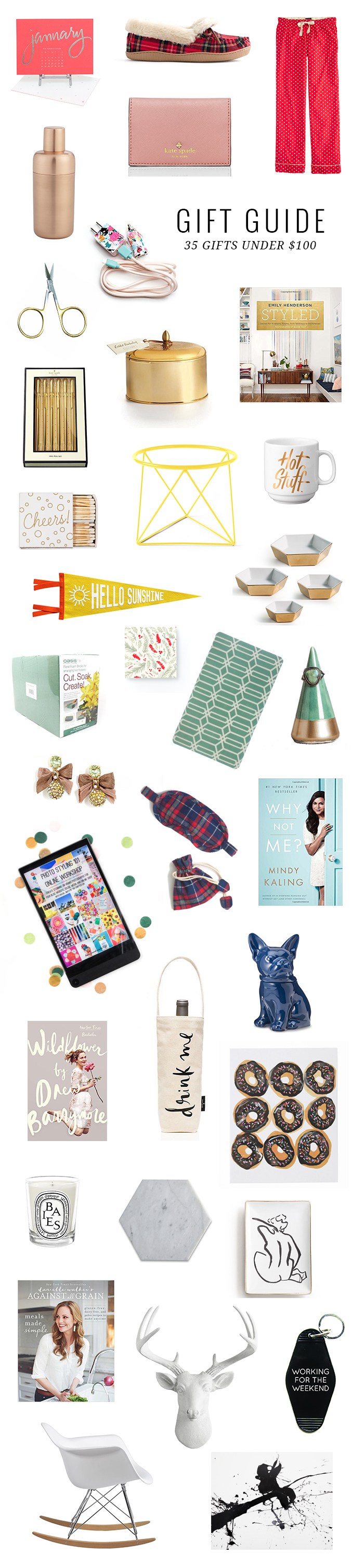 Holiday gift guide gifts under dream green diy