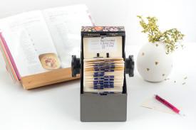 DIY Upcycled Rolodex Recipe Card Organization System | dreamgreendiy.com @ehow