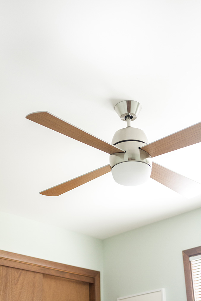Retro Revival: Mid-Century Inspired Ceiling Fan - Dream ...
