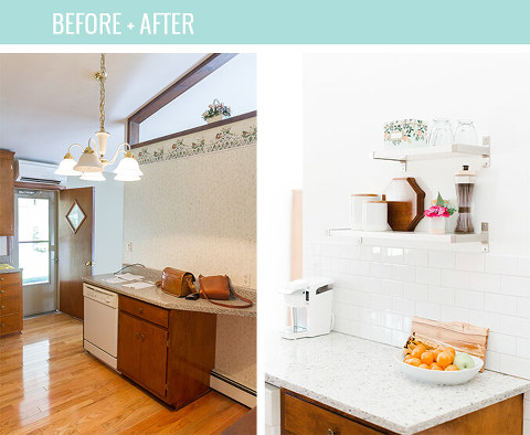 Before and After Home Reno Updates 8 Months In | dreamgreendiy.com
