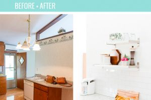 Before and After Home Reno Updates 8 Months In| dreamgreendiy.com