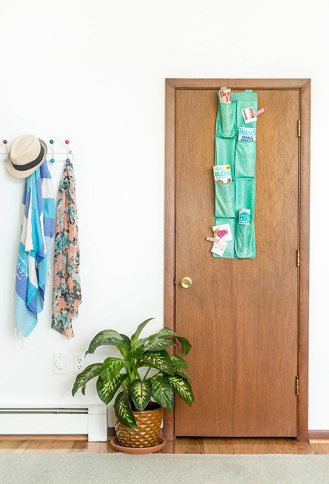10 Alternative Uses For An Over-The-Door Shoe Holder
