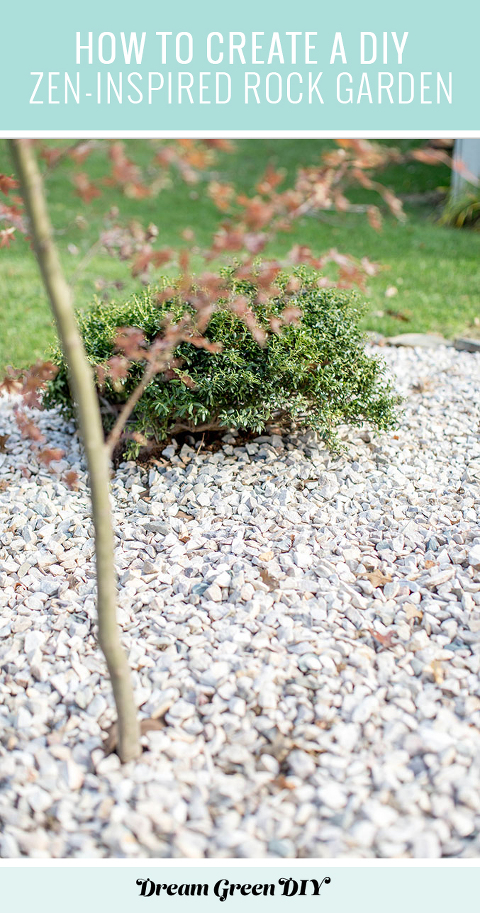 How To Create A Diy Zen Inspired Rock Garden Dream Green Diy