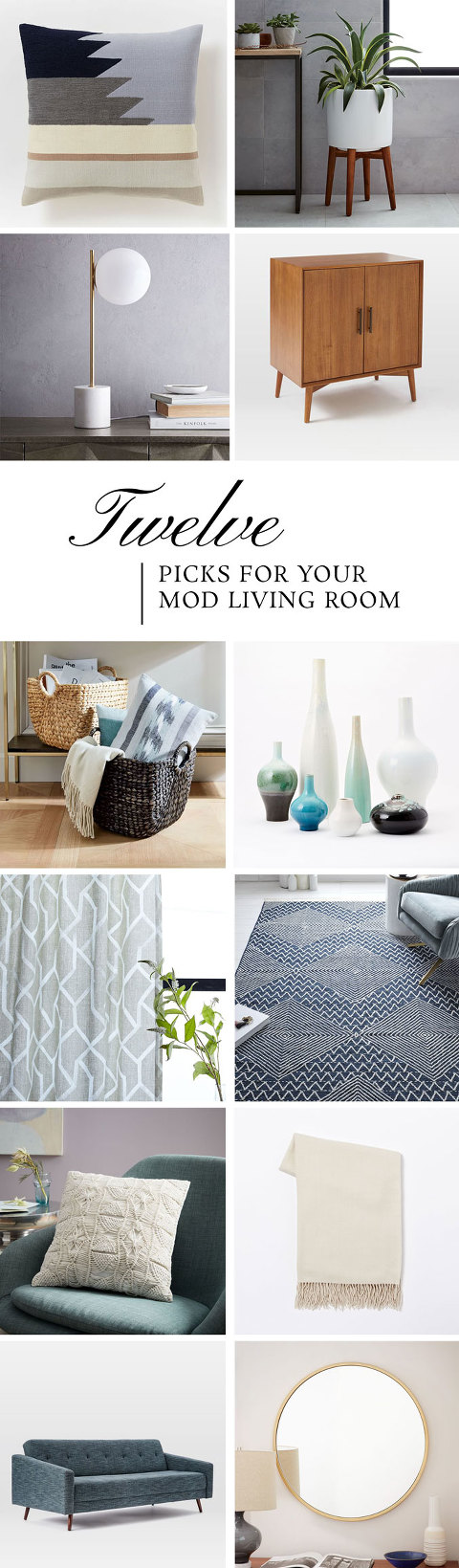 Everything You Need For Your Modern Living Room Makeover | dreamgreendiy.com