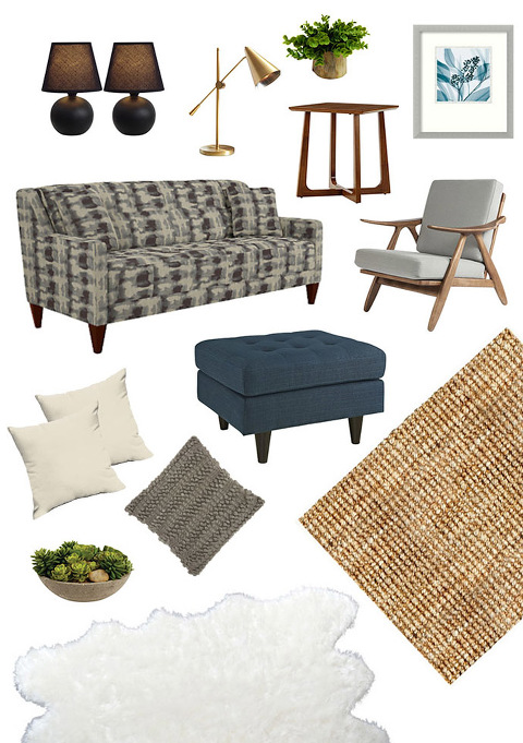 A boho @lazboy inspired living room retreat