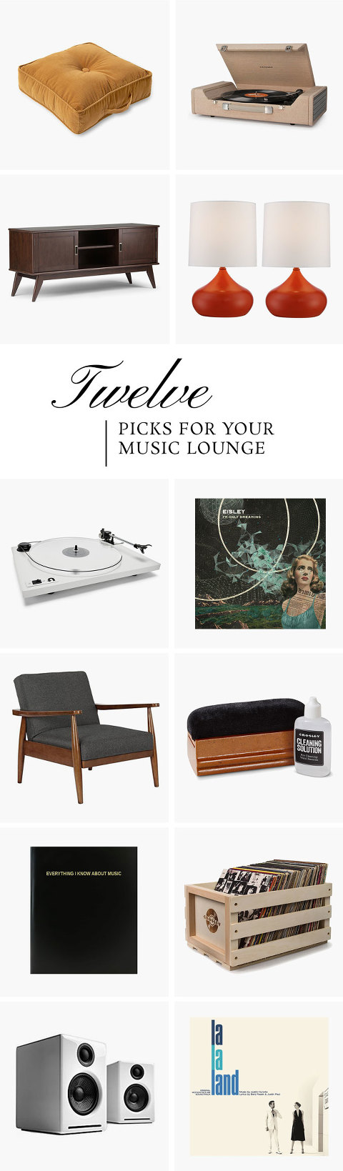 Done In A Dozen: Your Music Lounge