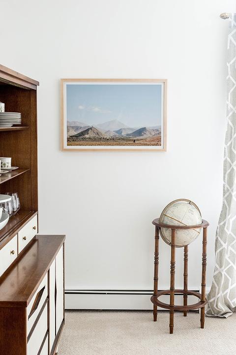New framed art for the dining room dream green diy for Dining room framed art
