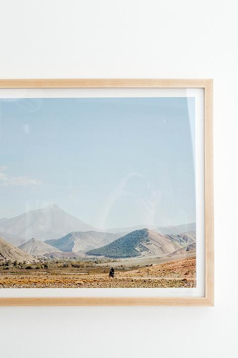 New framed art for the dining room dream green diy for Framed artwork for dining room