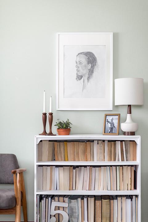 Thrift Store Score: Wooden Candlestick Holders