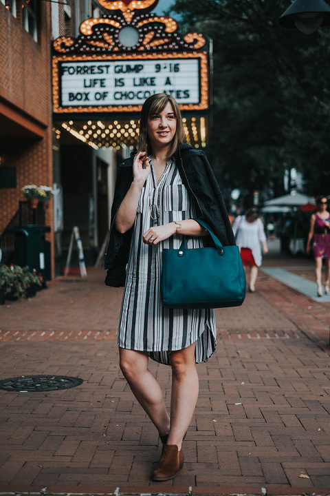 How To Take A Dress From Day To Night This Fall