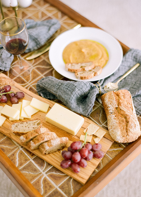 An At-Home Thanksgiving Picnic For Two | dreamgreendiy.com