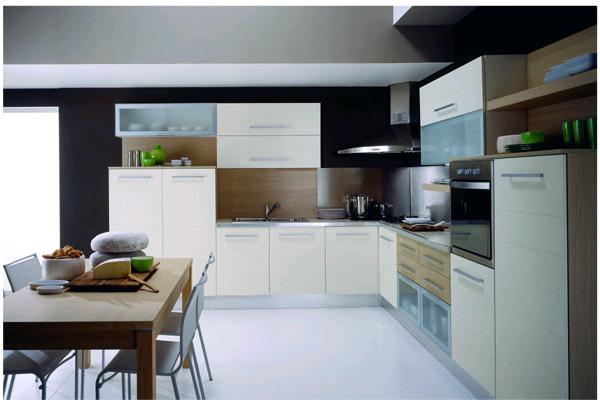 Modern kitchen units 06 dream green diy for Modern european kitchen cabinets