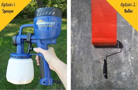 Sprayer or Roller