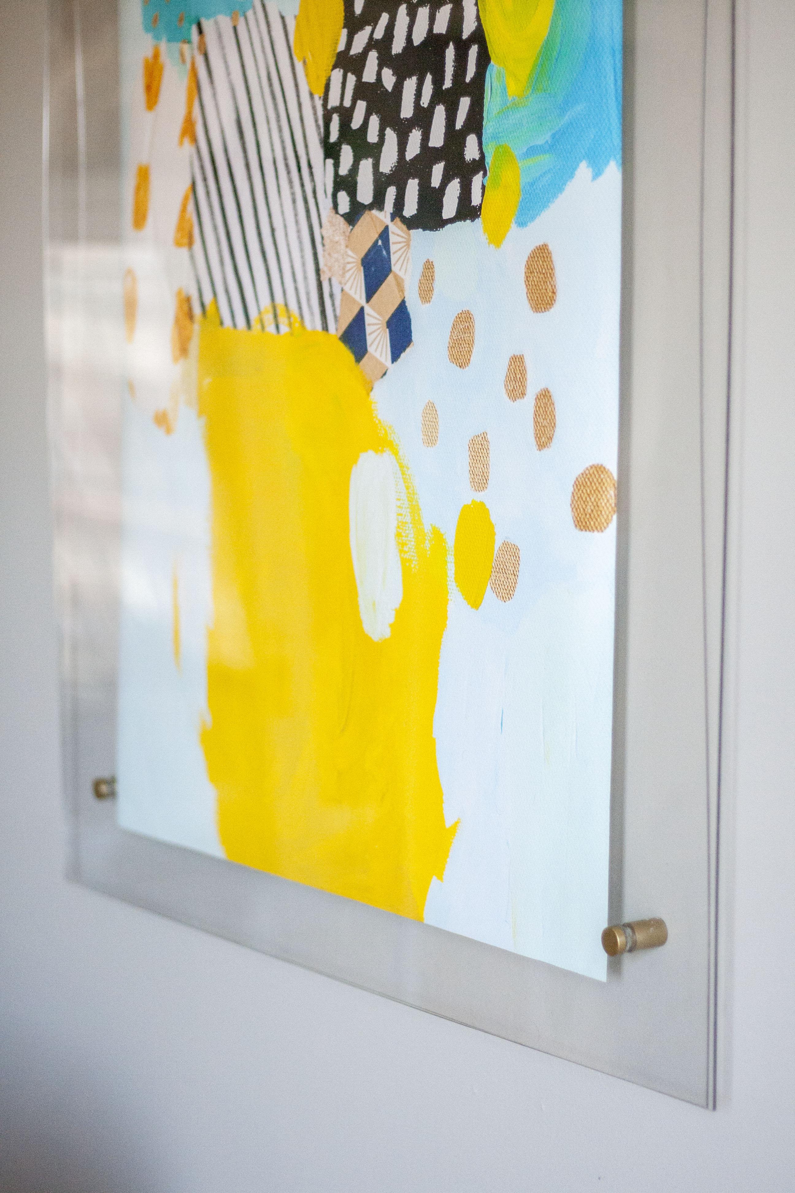 A Do It Yourself Acrylic Brass Frame Dream Green Diy