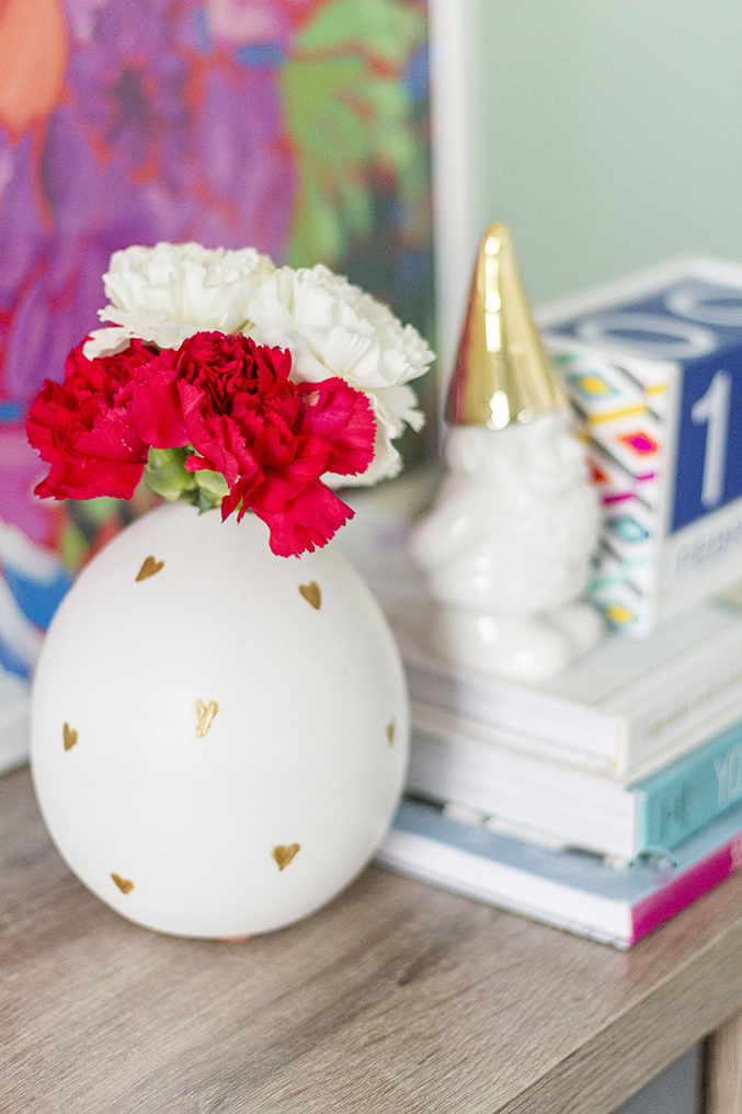 DIY West Elm Heart Vase Hack | Dream Green DIY