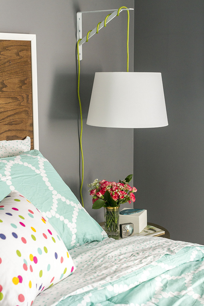 DIY IKEA Bedside Lamp | Dream Green DIY