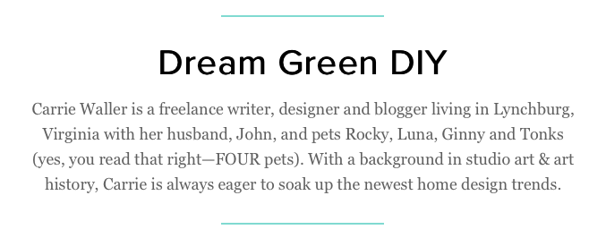 Dream Green DIY + Darby Smart