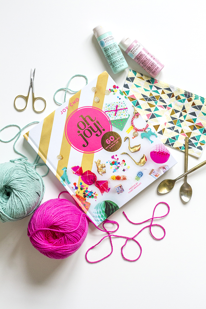 A Review of &quotOh Joy!: 60 Ways to Create &amp Give Joy&quot | Dream Green DIY