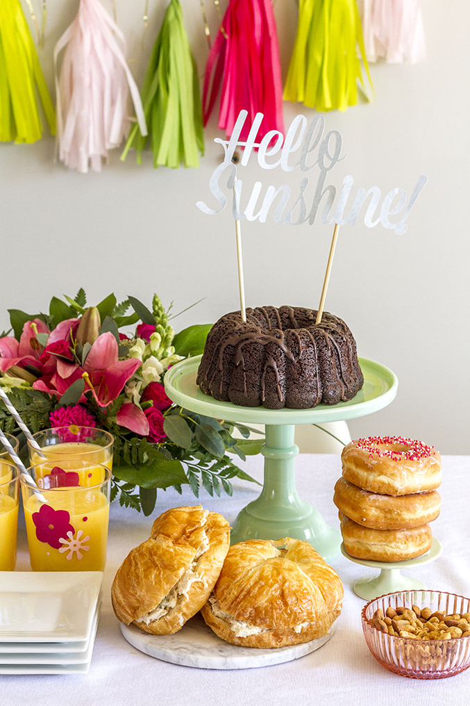How To Throw A DIY Luncheon Party | Dream Green DIY + @glitterguide