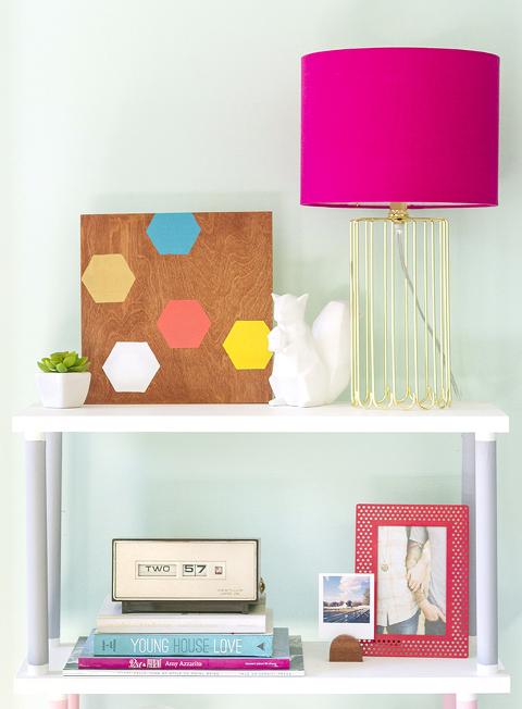Make Your Own DIY Geometric Wall Art With The Meet + Make Box | Dream Green DIY