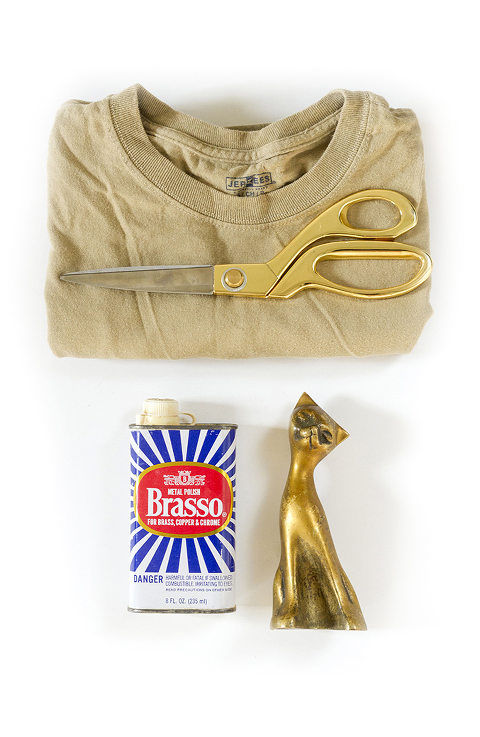 How To Clean And Polish Thrifted Brass | Dream Green DIY