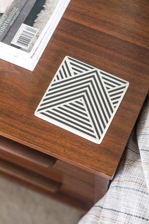 How To Decorate A Nightstand In 10 Minutes | Dream Green DIY