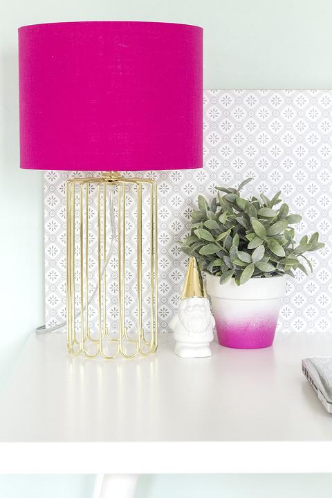 DIY Mid-Century Style IKEA Desk Hack | Dream Green DIY