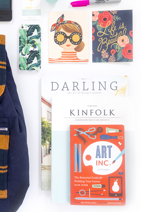 What Is In My Grown Up @krochetkids Book Bag | Dream Green DIY