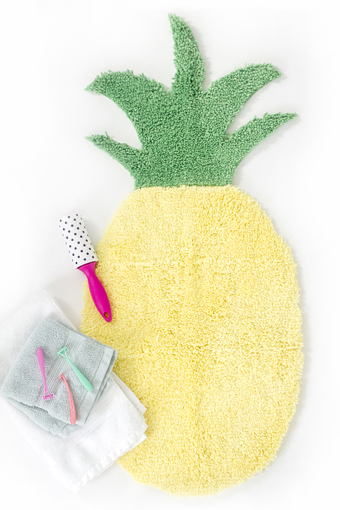 Image result for pineapple bath mat dream green diy
