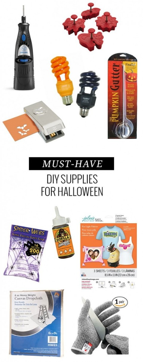 Top 10 DIY Supplies To Have On Hand This Halloween   Dream Green DIY