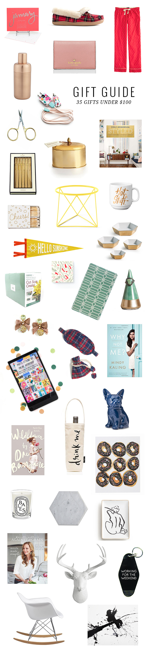 Holiday Gift Guide: 35 Gifts Under $100 | Dream Green DIY