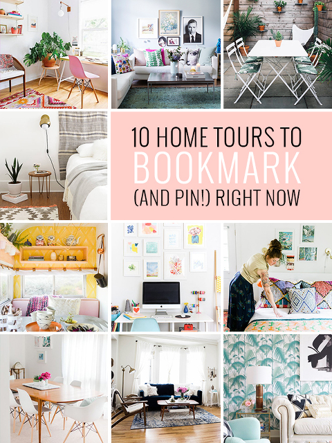 10 Home Tours To Bookmark (And Pin!) Right Now | dreamgreendiy.com