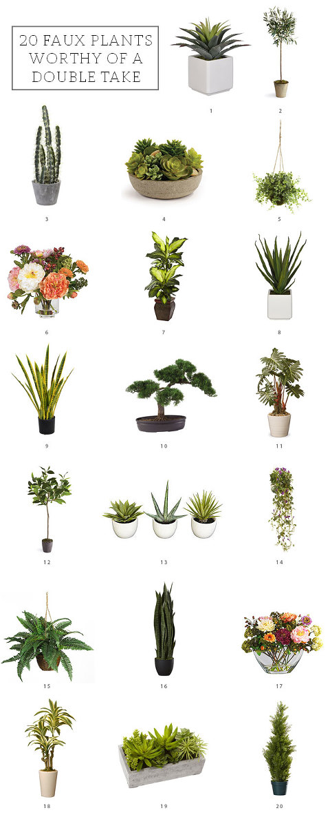 20 Faux Plants Worthy Of A Double Take