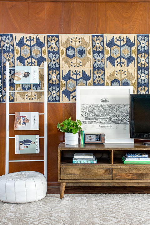 How To Blend Big Box Furniture With Mid-Century Finds | dreamgreendiy.com + @homedecorators @homedepot