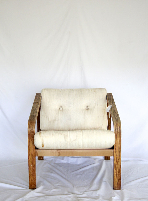 Before & After: A Thrifted Side Chair Makeover | dreamgreendiy.com