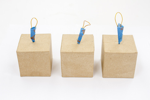 How To Make DIY Gift Box Ornaments   dreamgreendiy.com