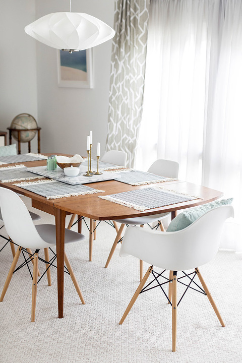 why we chose to re carpet our carpeted living room dream green diy - Carpeted Dining Room