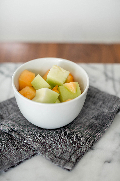 A Recipe For 5-Minute Fruit Salad Honey Drizzle