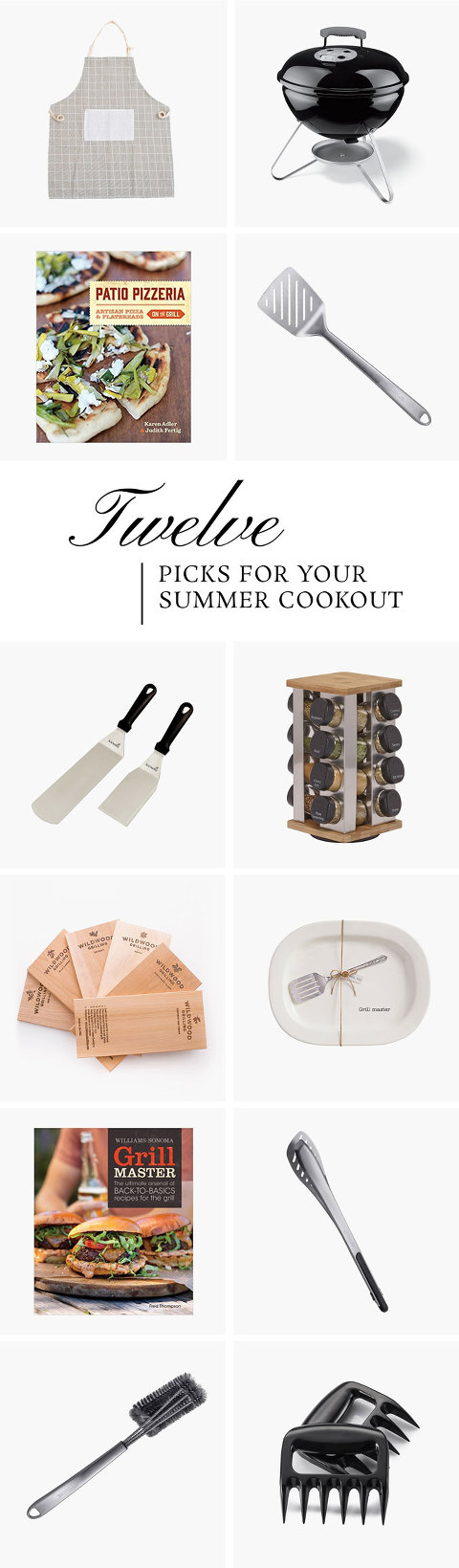 Everything You Need For Your Summer Cookout | dreamgreendiy.com