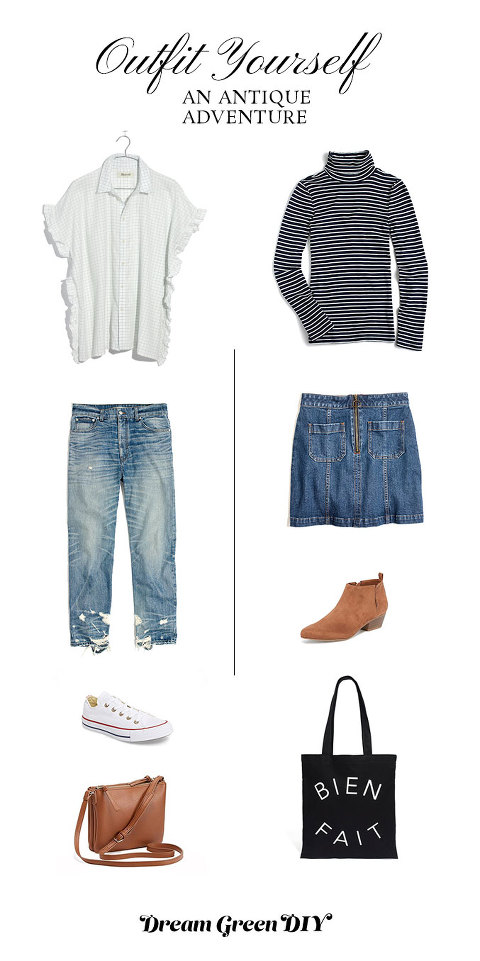All the outfit essentials you need for your next antique adventure!