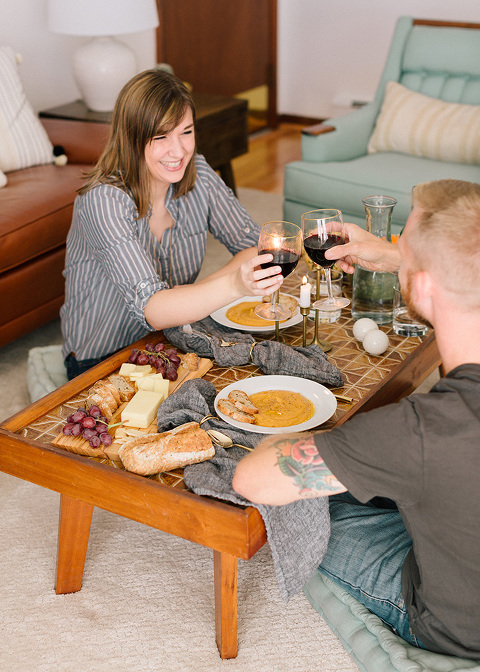 An At-Home Thanksgiving Picnic For Two   dreamgreendiy.com