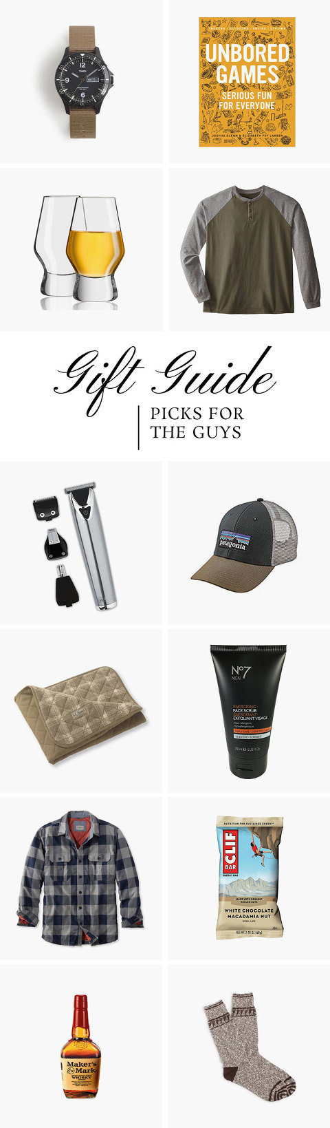 Christmas Gift Guide: Manly Man